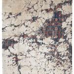 Teppich Jan Kath Tabriz Canal Aerial 243 x 171 cm 2018 ©Jan Kath