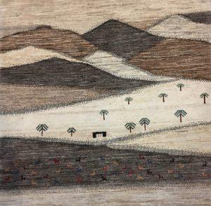 nomadi-art 126 x 103 cm 2018©Heinrich Gleue Perser-Teppiche